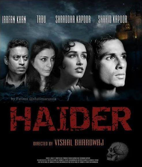 Haider movie first look