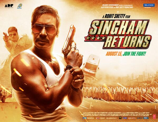 singham Returns Posters and first look