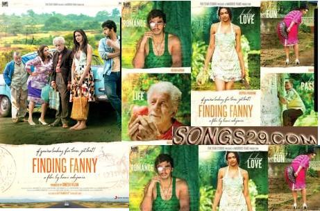 Finding Fanny Movie Poster